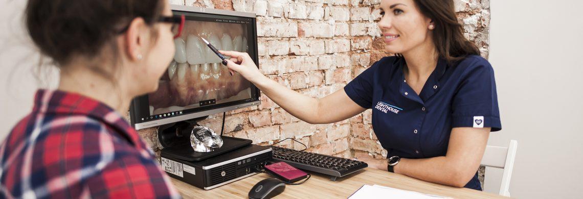 lighthouse dental dentysta stomatolog szczecin dominika polak joanna serewa diagnostyka stomatologiczna