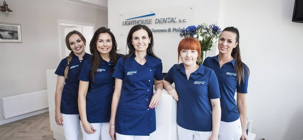lighthouse dental dentysta stomatolog szczecin dominika polak joanna serewa